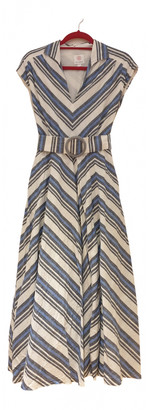 Gül Hürgel Blue Linen Dresses