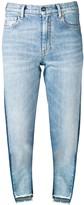 Marcelo Burlon County of Milan two tone jeans