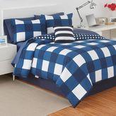 Izod Buffalo Plaid Reversible Comforter Set