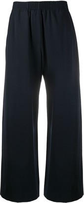 Loewe Elasticated-Waist Wool Trousers