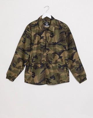Brave Soul harrington jacket in camo