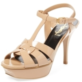 Tribute Patent Leather Platform Sandal