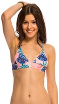Roxy Dry Wind Strappy Fixed Triangle Bikini Top 8142168