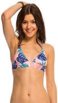 Roxy Dry Wind Strappy Fixed Triangle Bikini Top 8142168