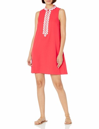 Pappagallo Women's Collared Shift Dress
