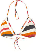 Agua de Coco Striped Bikini Top