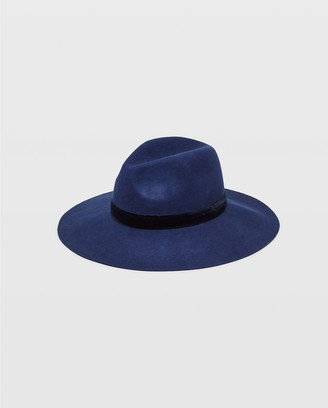 Club Monaco Hat Attack Wide Brim Wool Hat