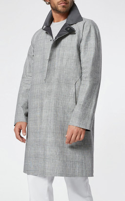 SEASE 3-Layer Linen Trench Coat