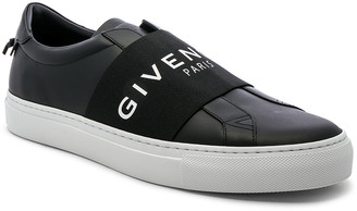 Givenchy Urban Street Elastic Sneakers in Black & White   FWRD