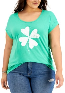 Style&Co. Style & Co Good Luck Charm Graphic T-Shirt, Created for Macy's