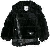 Comme des Garcons cropped belt jacket