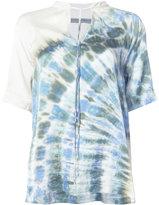 Raquel Allegra gradient-effect blouse - women - Silk - 0
