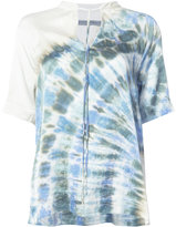Raquel Allegra gradient-effect blouse
