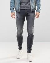Diesel Stickker Super Skinny Jeans 677I Distressed