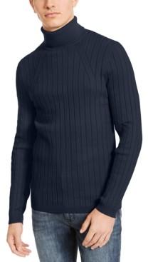 INC International Concepts Inc Men's Elite Turtleneck Sweater, Created for Macy's