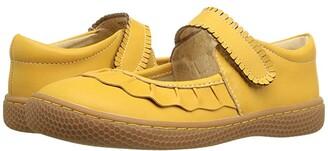 Livie & Luca Ruche (Little Kid) (Butterscotch) Girl's Shoes