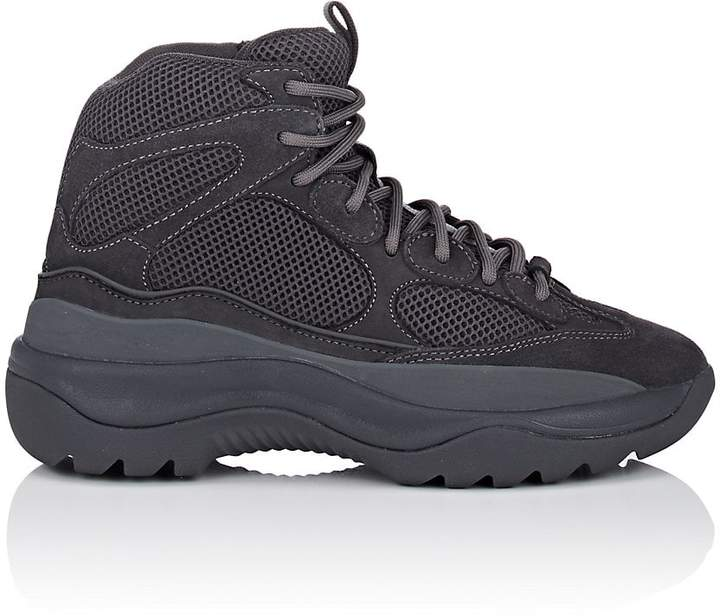 Yeezy Men's Mixed-Material Military Boots