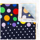 fe-fe multiple dots pocket square - unisex - Silk - One Size