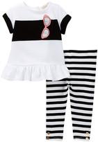 Kate Spade Tunic & Legging Set (Baby Girls)