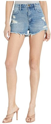 Show Me Your Mumu Athens High-Waisted Shorts (Great Lakes) Women's Shorts