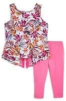Splendid Girls' Tropical Print Top & Leggings Set - Little Kid