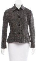 Piazza Sempione Tweed Wool Jacket