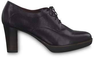 Tamaris Leather Heeled Brogues