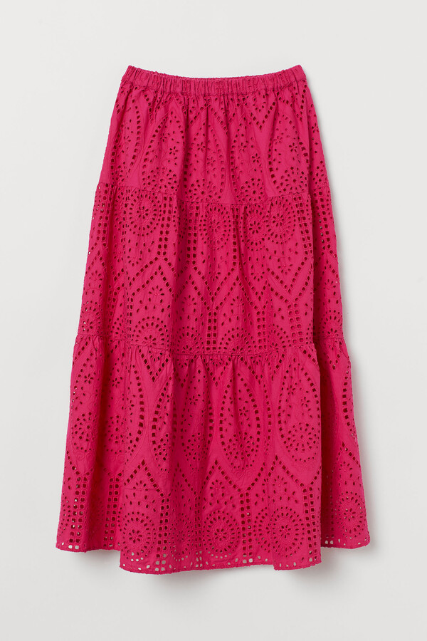 Thumbnail for your product : H&M Broderie anglaise skirt