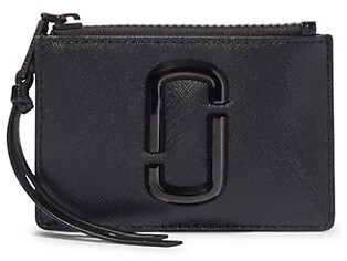 Marc Jacobs The Snapshot DTM Zip Coated Leather Card Case