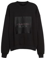 Alexander Wang Women's Label Patch Sweatshirt