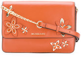 MICHAEL Michael Kors floral shoulder bag - women - Leather - One Size