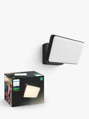 Philips Hue White Ambiance Welcome LED Smart Outdoor Floodlight, Black