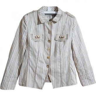 Basler Multicolour Cotton Jacket for Women