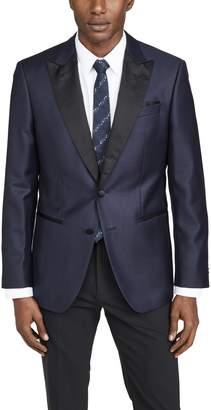HUGO BOSS Dinner Jacket With Satin Peak Lapel