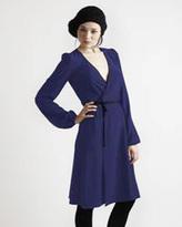 Secrets of Charm Chelsey Wrap Dress