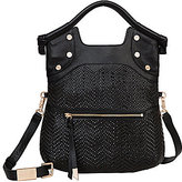 Foley + Corinna Ella Woven Top-Handle Lady Tote