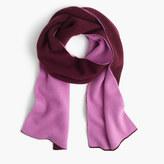 J.Crew Colorblock cashmere scarf