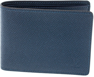 Louis Vuitton Blue Taiga Leather Multiple Wallet