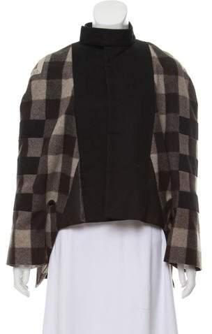 Rick Owens Wool Cocoon Coat