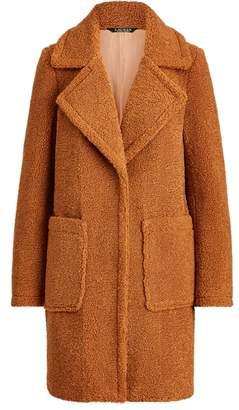 Ralph Lauren Single-Breasted Teddy Coat