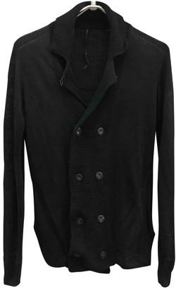 Diesel Black Gold Black Linen Jacket for Women