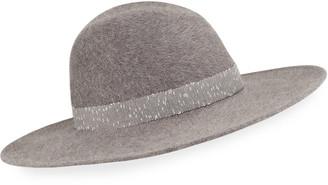 Gigi Burris Millinery Jeanne Salome Felt Fedora Hat