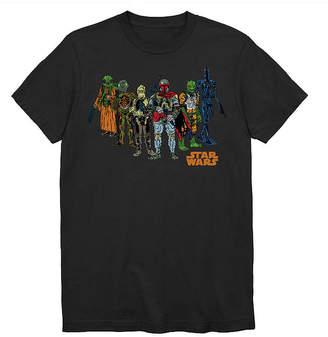 Star Wars Novelty T-Shirts Mens Crew Neck Short Sleeve Graphic T-Shirt