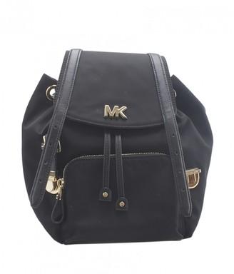 Michael Kors Black Cloth Backpacks