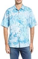 Tommy Bahama Men's Botanico Jungle Short Sleeve Silk Sport Shirt