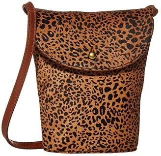 Madewell Mini Crossbody in Haircalf (Desert Dune Multi) Handbags