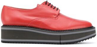 Clergerie Brook platform lace-up shoes
