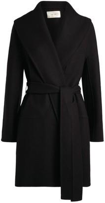 The Row Wool-Cashmere Tie-Waist Coat