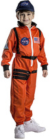 Orange Astronaut Dress-Up Set - Toddler & Kids