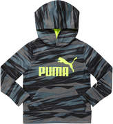 Puma Pullover Tech Boys Printed Hoodie (4-7)
